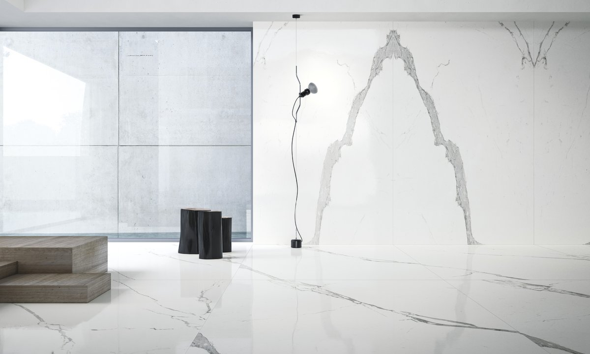 Luna Tile Statuario Ultra